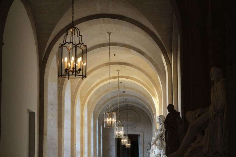 Château de Versailles. Dans l'aile du Nord.