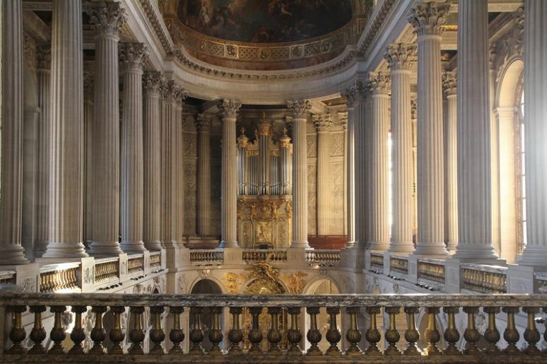 Château de Versailles. La chapelle Royale.
