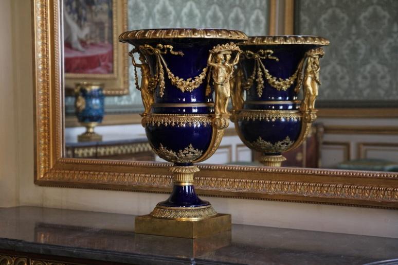 Château de Versailles. La chambre de la Reine.