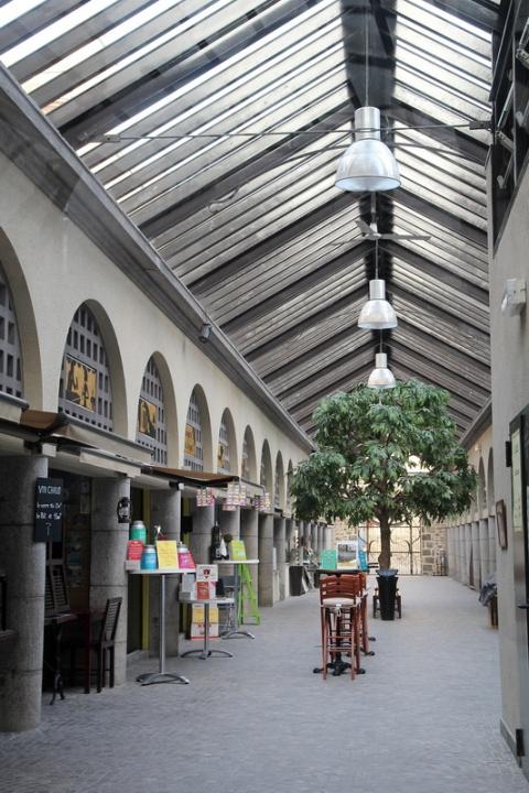 Les Halles de Dinan.
