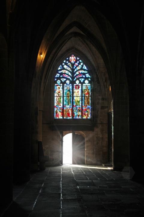 Dinan, dans la Basilique Saint-Sauveur.C'est dans cette basilique qu'est conservé le cœur de Bertrand Du Guesclin, connétable de France.