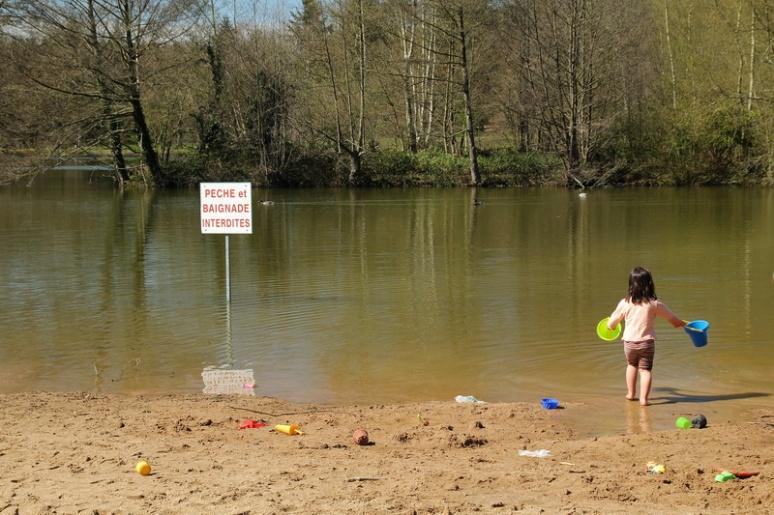 Jeux interdits au parc des Gayeulles (Rennes).