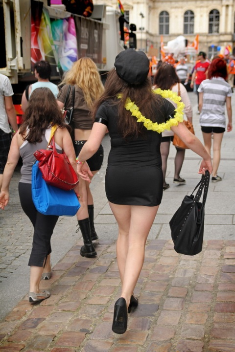 La grâce et la féminité en marche (Marche LGBT 2013 de Rennes)