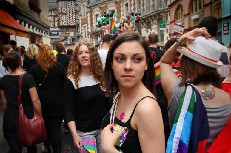 Marche LGBT 2013 de Rennes.