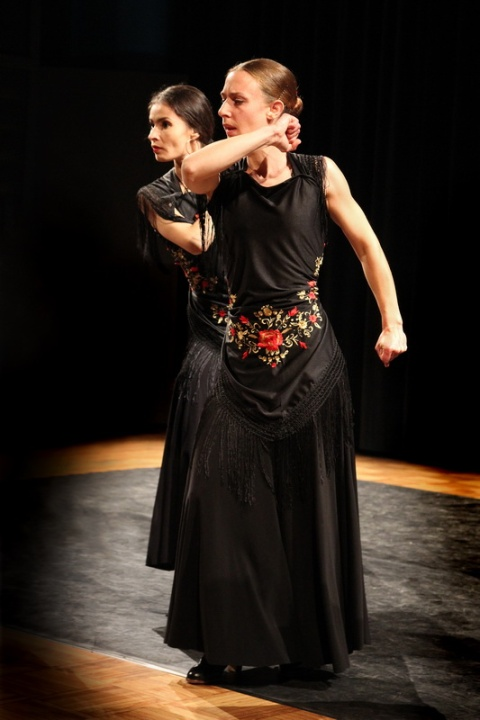 Spectacle de Flamenco interprété par l'association Al Golpe (Rennes)