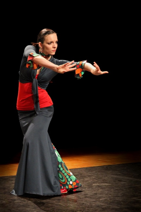 Spectacle de Flamenco interprété par l'association Al Golpe (Rennes, 2013)