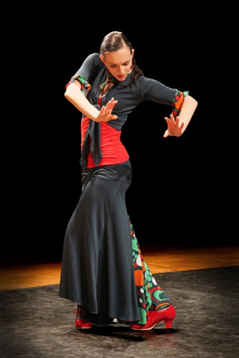 Spectacle de Flamenco interprété par l'association Al Golpe (Rennes, 2013)