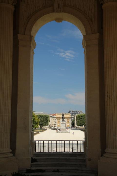 Montpellier, Jardin du Peyrou.