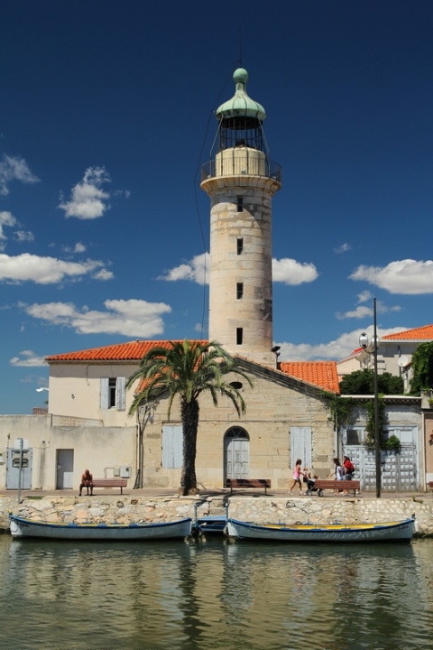 Le vieux phare du Grau-du-Roi (Gard).