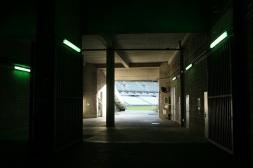 Saint-Denis. Un des accès à la pelouse du Stade de France.