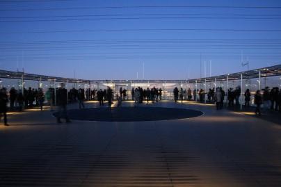 Paris. La terrasse panoramique (59ème étage) de la Tour Montparnasse.