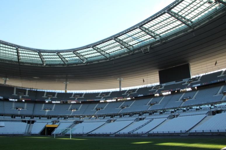 Le Stade de France (Saint-Denis).