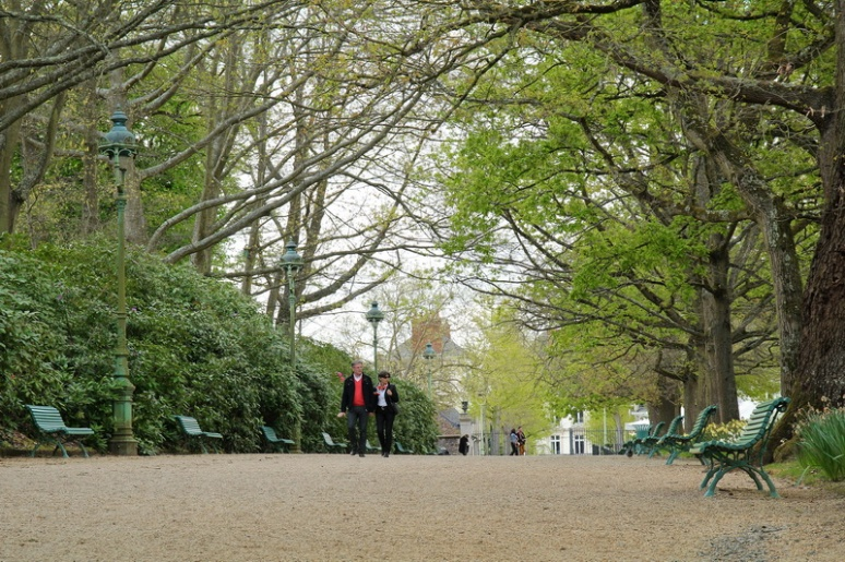 Rennes, Parc du Thabor (Avril 2014)