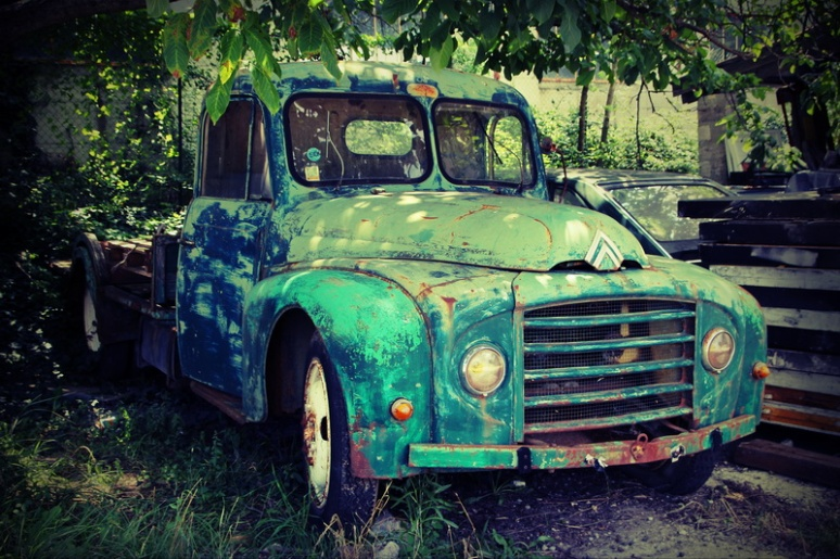 La vieille Citroën