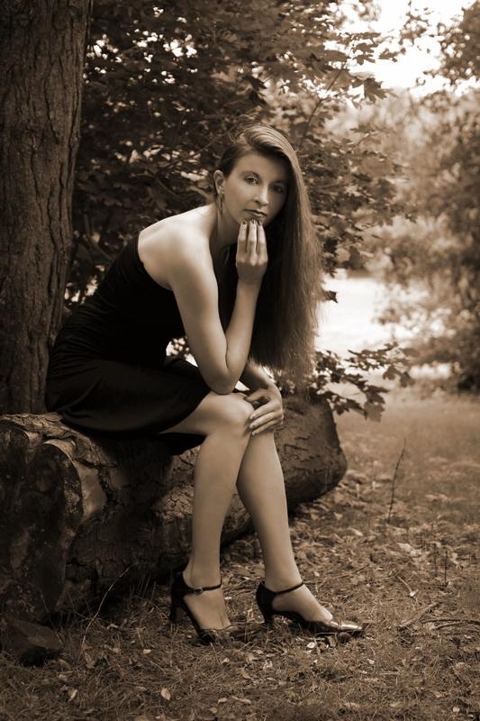 Shanna au parc des Gayeulles (NB4)