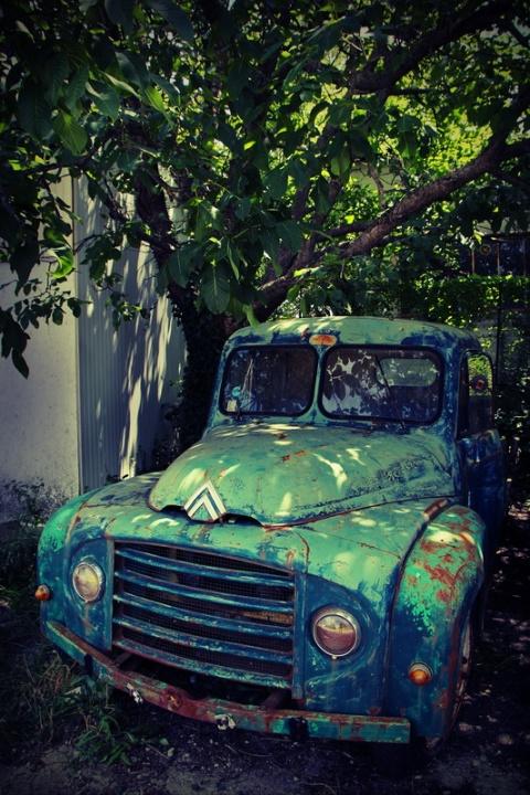 La vieille Citroën (2)