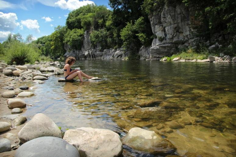 L'Ardèche à Vogüé