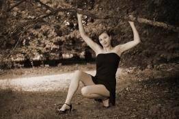 Shanna au parc des Gayeulles (NB8)