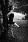 Shanna au parc des Gayeulles (NB9)