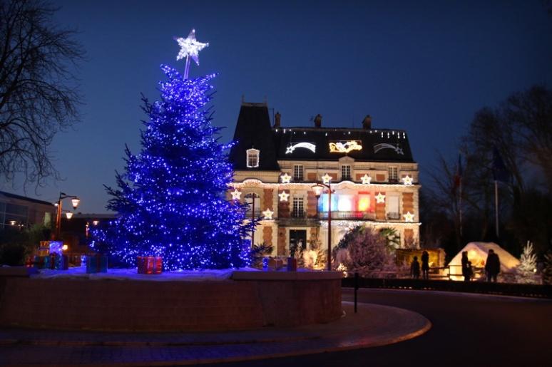 Décorations de Noël à Claye-Souilly