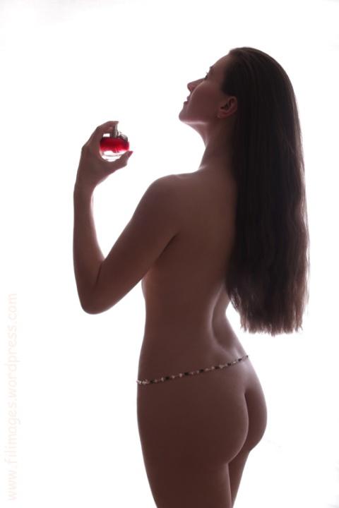 Le flacon de parfum
