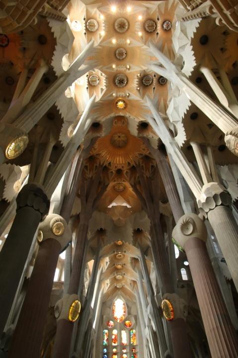 La Sagrada Familia (Barcelone, Espagne)
