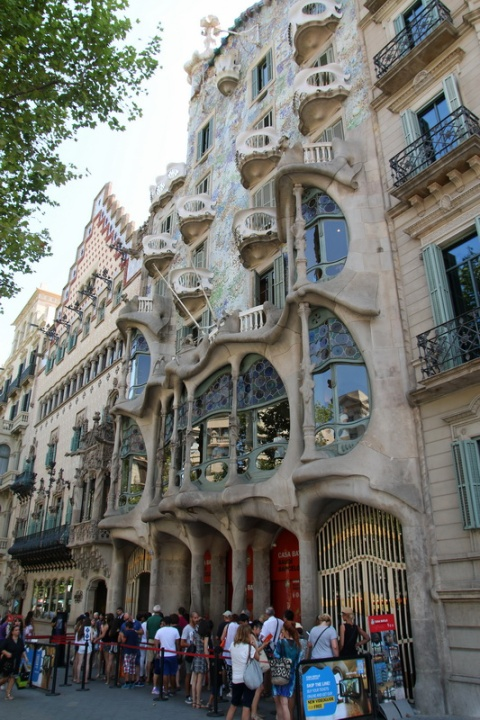 La Casa Batllo (Barcelone, Espagne)