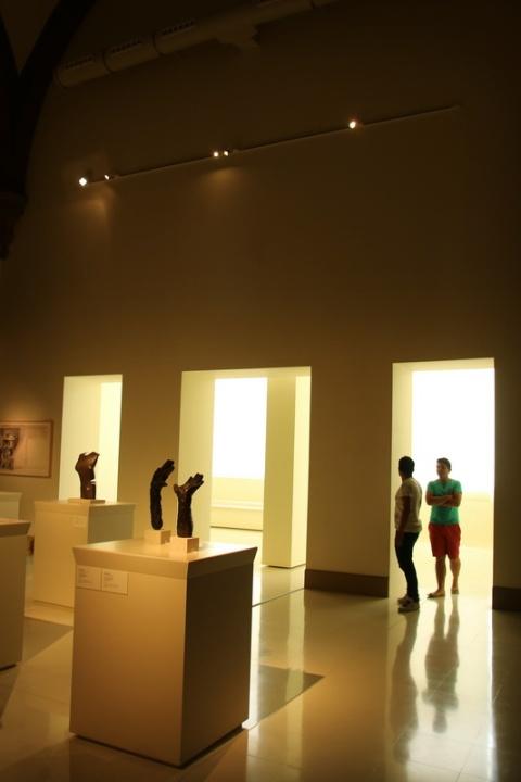 Rencontre au Musée National d'Art de Catalogne (Barcelone, Espagne)