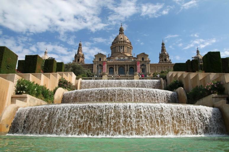 Le Musée National d'Art de Catalogne (Barcelone, Espagne)