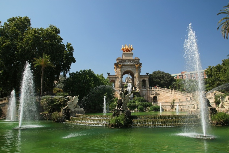 Parc de la Ciutadella (Barcelone, Espagne)