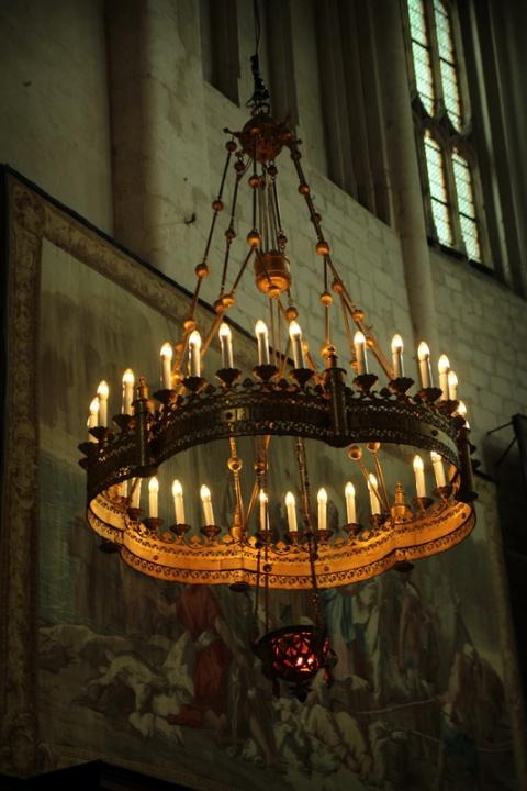 Dans la cathédrale Saint-Vincent, à Viviers (Ardèche).