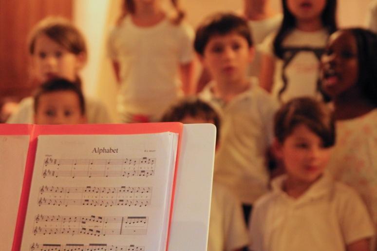Chorale d'écoliers (Rennes).