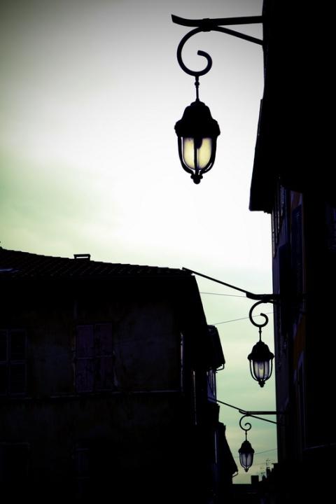 Lampadaires à Montélimar (Drôme)