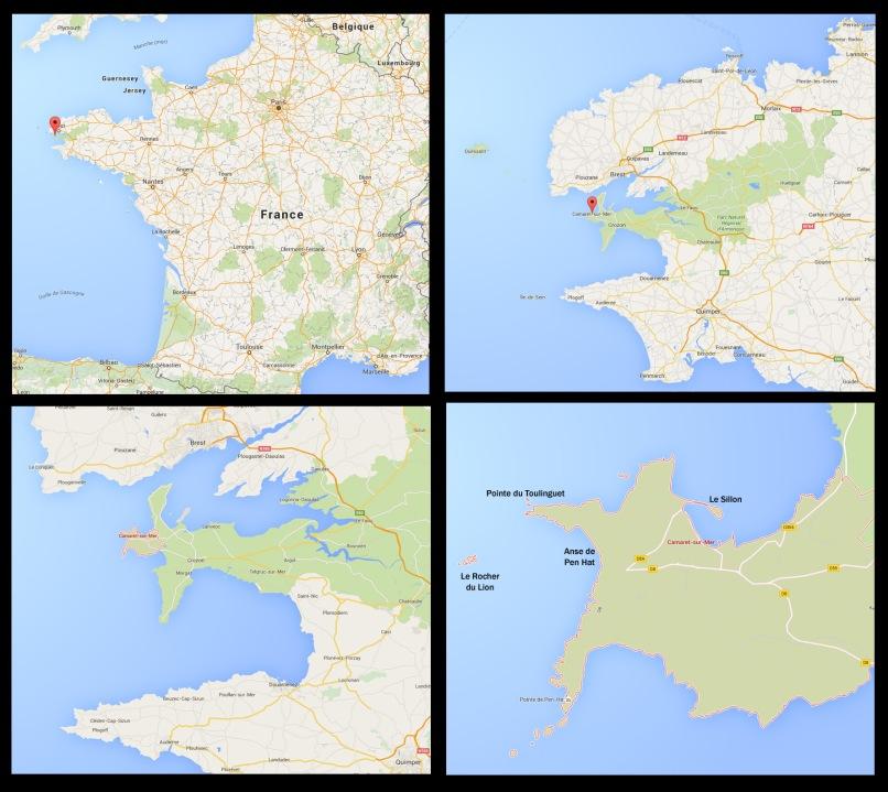 Camaret-sur-Mer, Finistère, Bretagne, France (@Google)