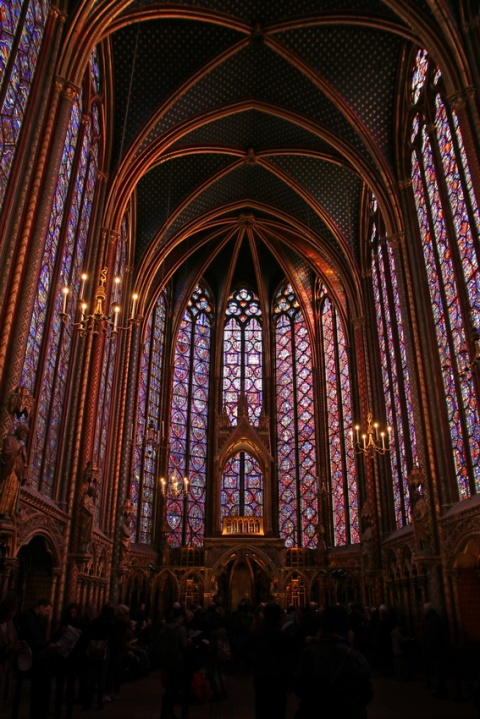 Paris, la Sainte-Chapelle.