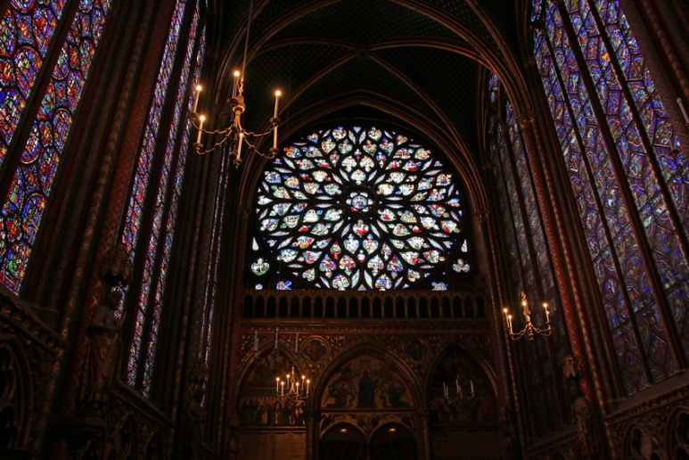 Paris, la Sainte-Chapelle.