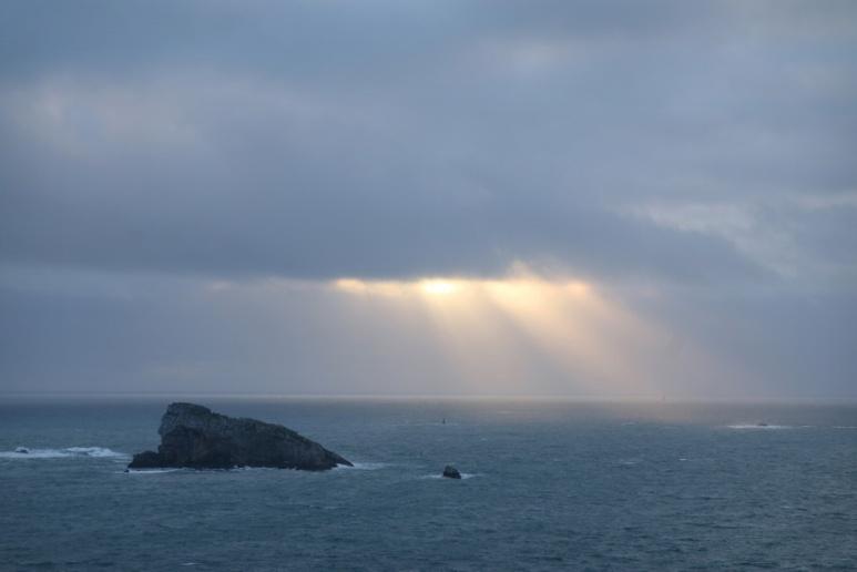 Camaret-sur-Mer (Finistère), le Rocher du Lion