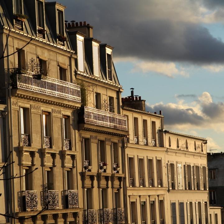 Paris, rue Ravignan.