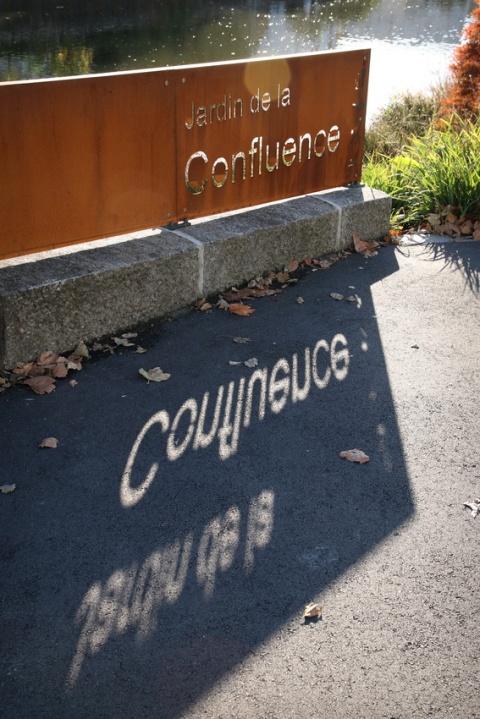Rennes (Ille-et-Vilaine), Jardin de la Confluence.