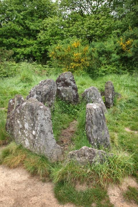 Le Tombeau de Viviane (Forêt de Brocéliande)