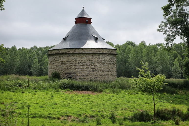 Le pigeonnier du château de Trécesson (Brocéliande)