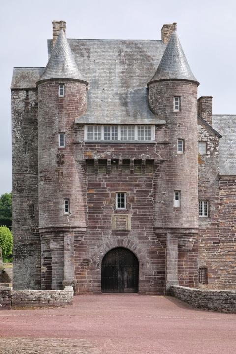 Le château de Trécesson (Brocéliande)