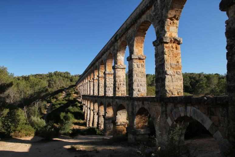 Aqueduc de Tarragone (Espagne, Catalogne)