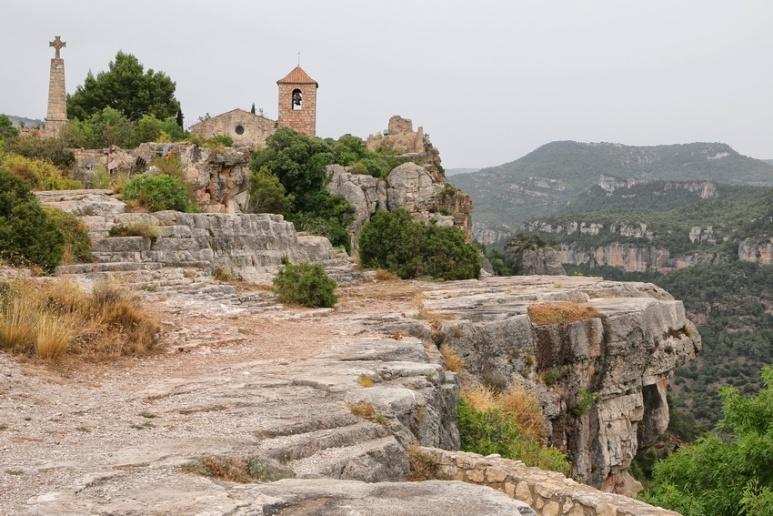 Siurana de Prades (Espagne, Catalogne).