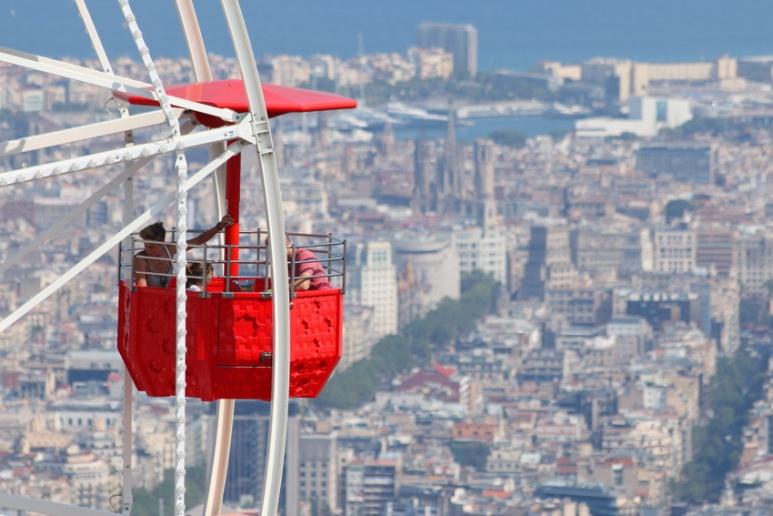 Le parc d'attractions du Tibidabo (Barcelone).
