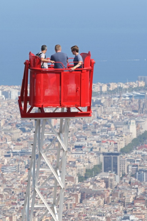 Le parc d'attractions du Tibidabo (Barcelone).