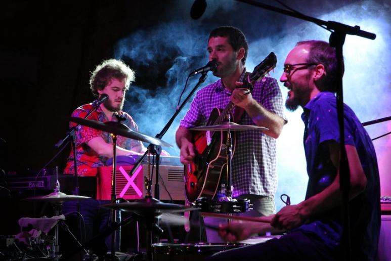 """""""El Petit de Cal Eril"""" en concert à Altafulla (Espagne)."""