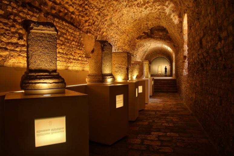 Tarragone (Espagne). Musée dans la Tour romaine.
