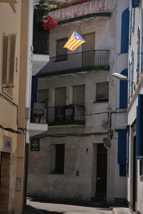 Rue à Sitges (Espagne).