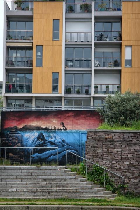 Rennes, Quai Saint-Cyr (mai 2016).